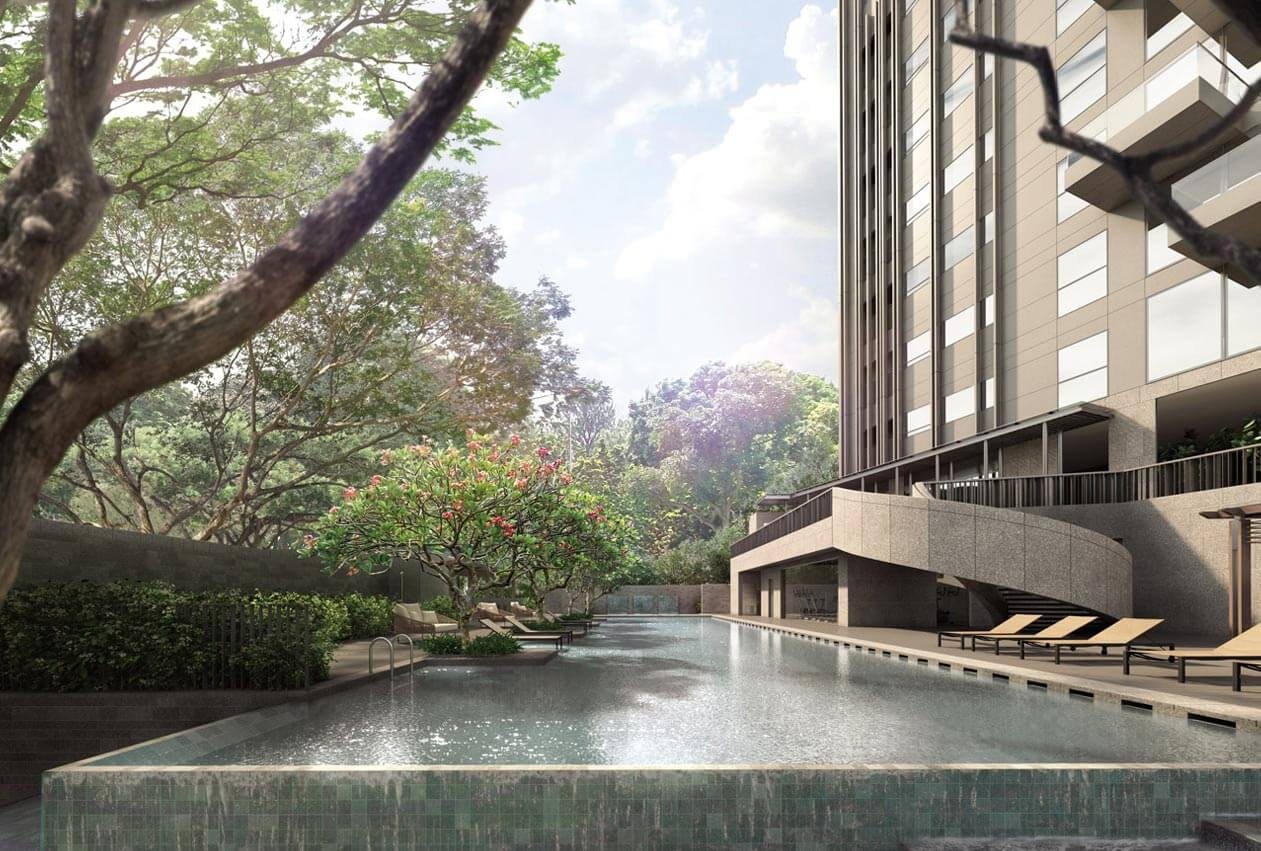 3 Orchard By-The-Park Wins Big With Lush, Luxurious Design   3 Orchard  By-The-Park 乌节三翠林   Showsuite 61008717   Singapore